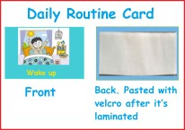 Daily Activity Card
